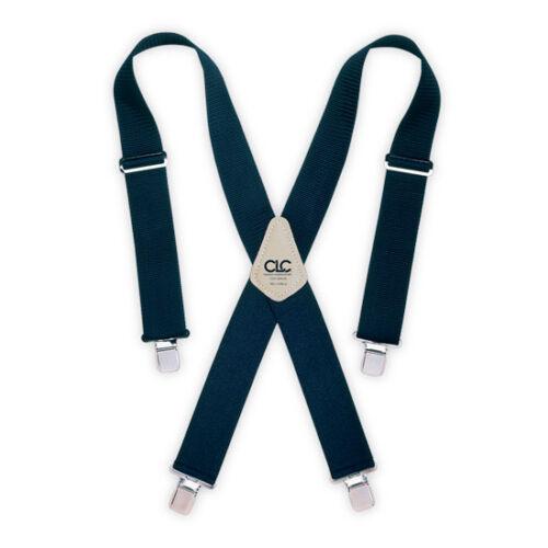 "CLC Work Gear 110BLU 2/"" Wide Blue Work Suspenders"