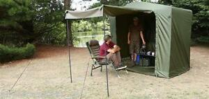 Image is loading Fox-Royale-Cook-Tent-Station-Carp-Fishing-Kitchen- & Fox Royale Cook Tent Station / Carp Fishing Kitchen Bivvy ...