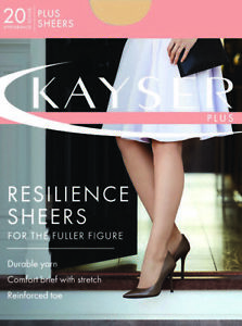 af13a385bc5d1 Image is loading WOMENS-5-PACK-KAYSER-PLUS-SIZE-RESILIENCE-PANTYHOSE-