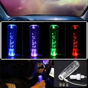 Car 150mm Multi-Color RGB LED Light Change Crystal Bubble ...