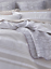 Beige /& White Stripe SEERSUCKER NATURAL 100/% Cotton Duvet Cover Set or Throw