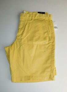 NWT-Gap-Men-039-s-Lived-in-10-034-Khaki-Shorts-Yellow-Size-30-MSRP-35-New-Free-Shipping
