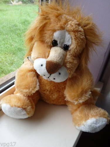 WOOLBRO LTD PLUSH SOFT TOY PUPPET  LION NEW