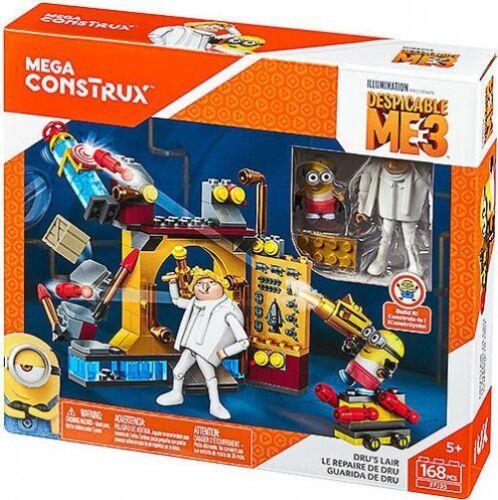 Mega Bloks Despicable Me 3 Mega Construx Dru/'s Lair Exclusive Set