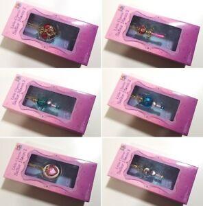 Sailor-Moon-Little-Charm-2-Keychain-CHOOSE-Uranus-Neptune-Pluto-wand-locket