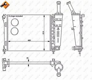 Radiateur-refroidissement-du-moteur-NRF-53526