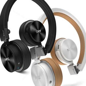 Cuffie-Bluetooth-AKG-wireless-senza-fili-On-Ear-microfono-e-comandi-Smartphone