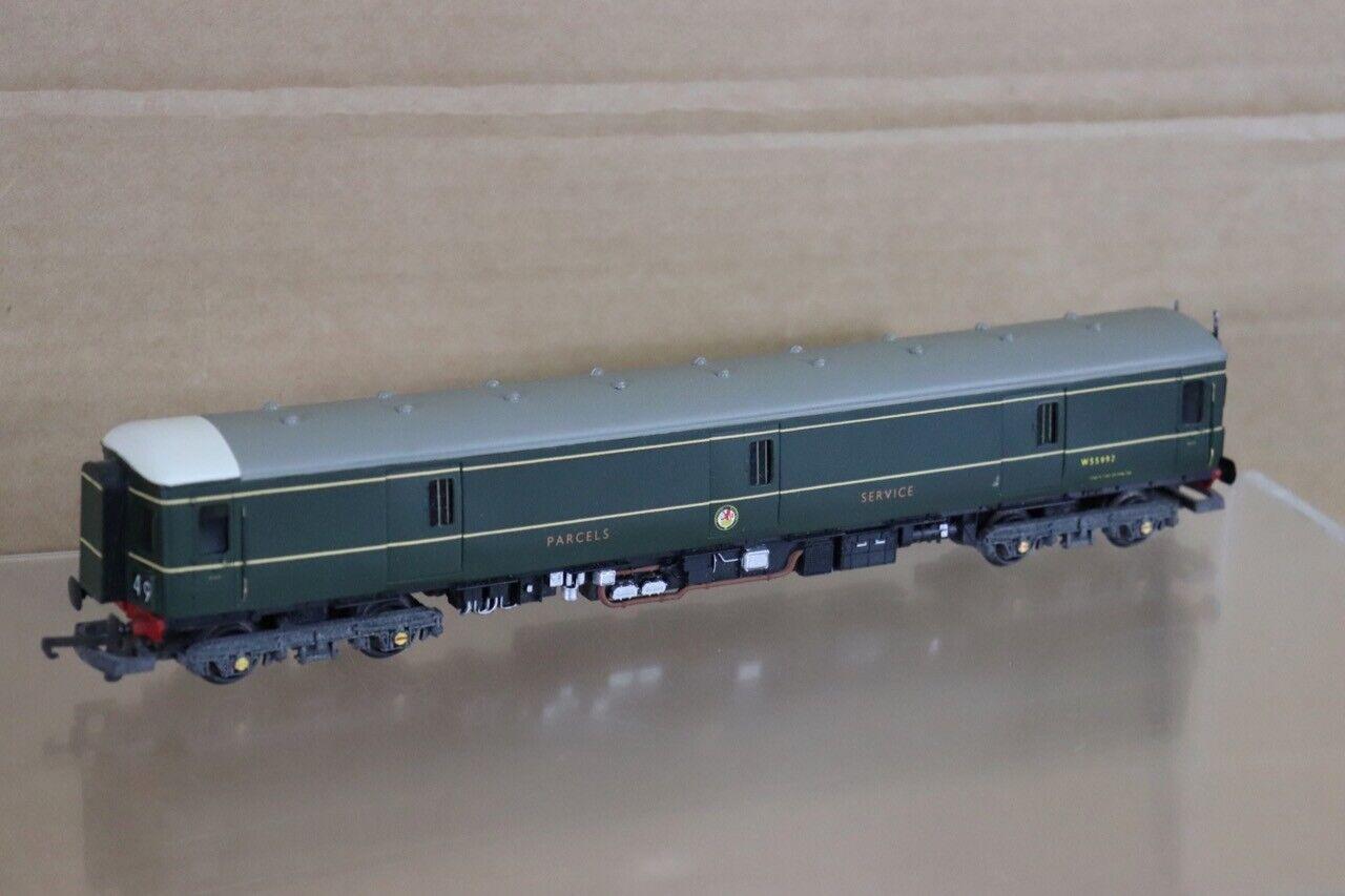 argento FOX modelloS LIMA KIT BUILT BR PARCEL SERVICES classe 128 DUMMY LOCO W55992