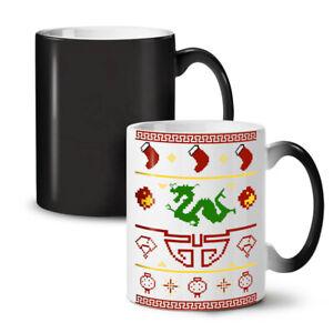 Chinese Dragon New Year NEW Colour Changing Tea Coffee Mug 11 oz   Wellcoda