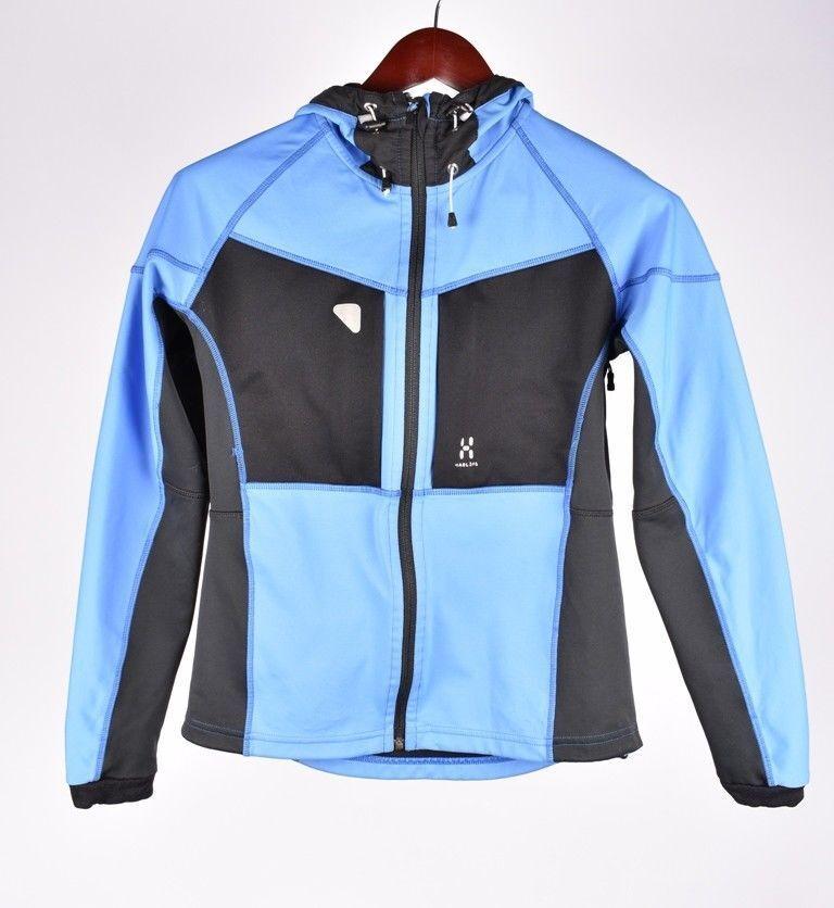 Haglofs Capucha women blue black Chaqueta Suéter size Eu-36,