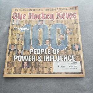 The-Hockey-News-December-30-2003-Vol-57-No-18-100-People-of-Power-amp-Influence