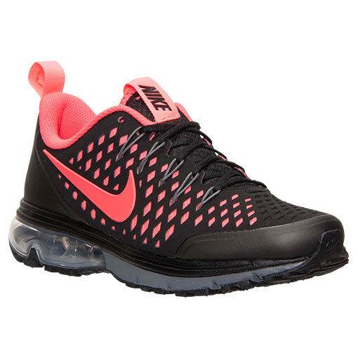Men's Nike Air Max Supreme 3 Running Shoes, 706993 060 Sizes 9-13 Black/Infrared