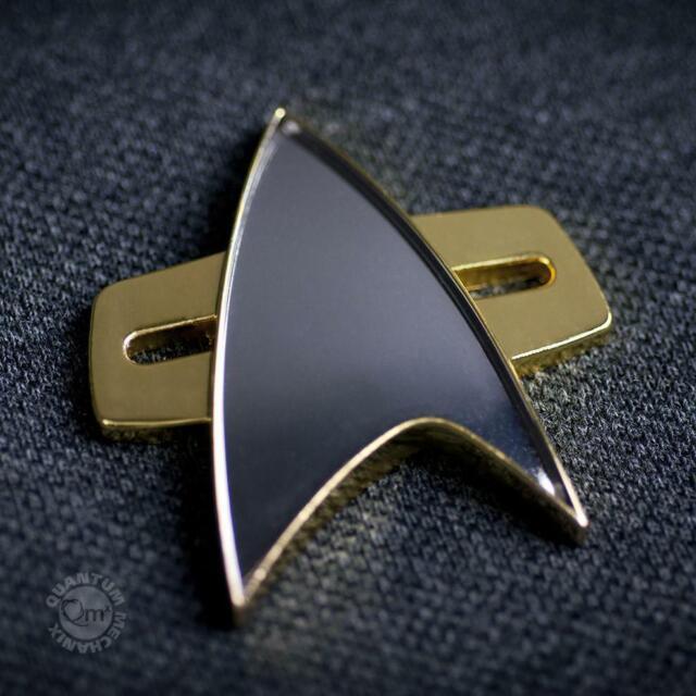 Quantum Mechanix Star Trek VOYAGER Communicator Badge PRE-ORDER