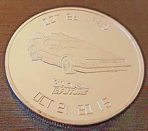 BACK-TO-THE-FUTURE-Silver-Coin-30th-Anniversary-Science-Fiction-Classic-Film-USA