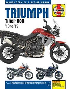 Haynes-Manual-for-Triumph-Tiger-800-2010-2019-owners-workshop-HM5752