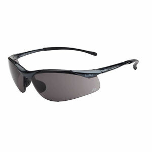 44dd3cb02c85 Bolle Safety Sunglasses Sidewinder Platinum Gun Metal Gloss Frame ...