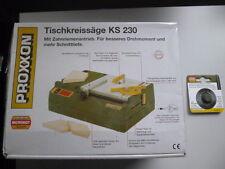 Proxxon Set Tischkreissäge KS 230 Nr. 27006+28011 Vollhartmetall Kreissägeblatt