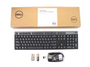 Genuine-DELL-KM636-Wireless-Cordless-Keyboard-Mouse-Set-Kit-ARABIC-Layout-NEW