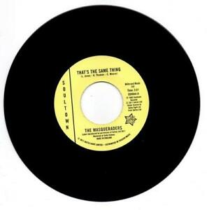 MASQUERADERS-That-039-s-The-Same-Thing-Talk-About-60s-NORTHERN-SOUL-45-7-034-VINYL