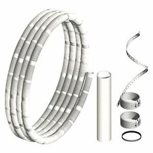 Kunststoff-Abgassystem Pipe Flexible, Basisset 15m Dn 60