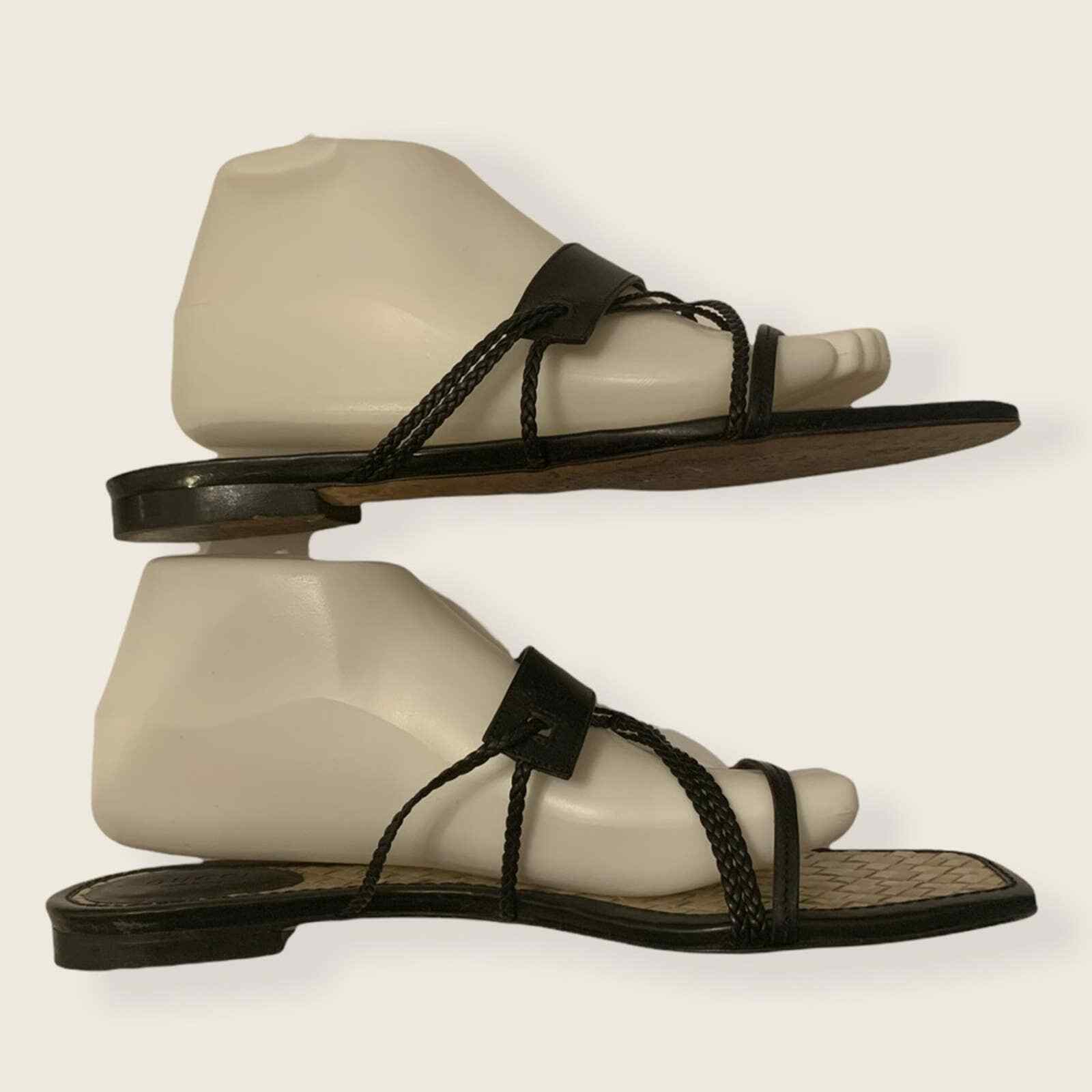 Vintage Gucci Strappy Sandals - image 4