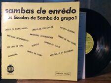Various – Sambas De Enrêdo Das Escolas De Samba Do Grupo 1 VG++ VINYL LP