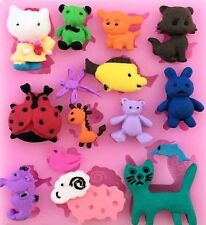 Animals, Fish, etc. 15 Cavities Silicone Mold for Fondant, GP, Chocolate, Craft