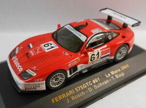 IXO-escala-1-43-LMM081-Ferrari-575-GTC-le-falta-61-Le-Mans-2004