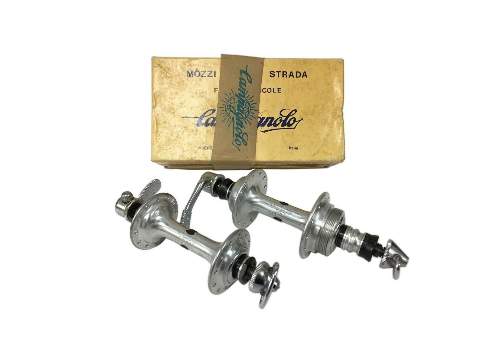 Nib campagnolo record low  flange hubs 24 holes nos in box 126mm  discount promotions