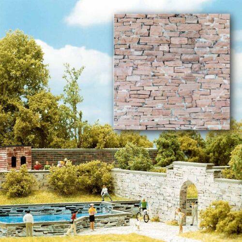 32,02€//m² Sandstein 2 Dekorplatten 210 x 148 x 0,6 mm BUSCH 7423 H0