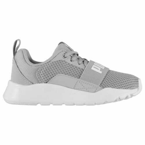 Kids Boys Puma Wired Child Trainers Runners Lace Up Breathable New