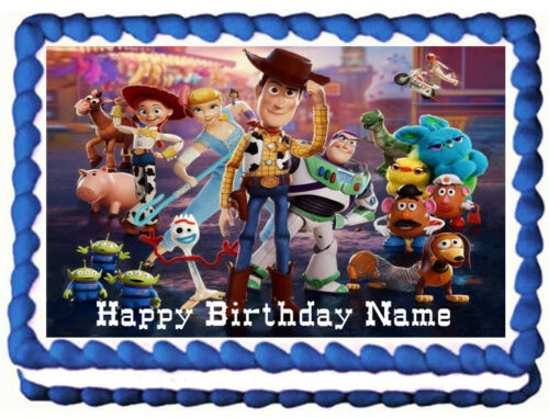 TOY STORY Edible cake topper image Party Decoration
