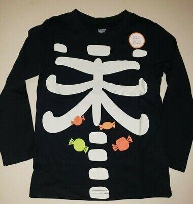Halloween Baby Unisex Tee Spiderweb /& Candy Long Sleeve White T-Shirt