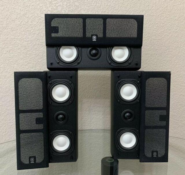 Ongekend Yamaha Surround Speakers 2 x NS-AP7800BLS Sides + 1 x NS KS-98
