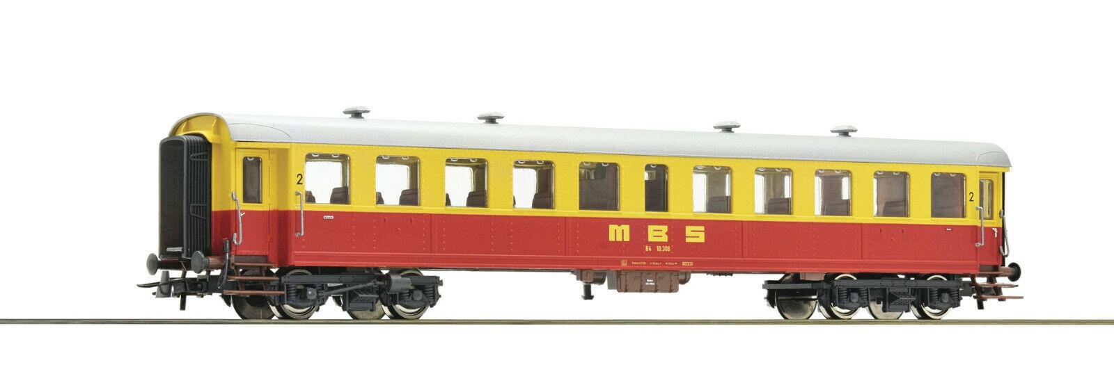 Roco h0 64356-viajeros 2. clase, MBS, EP. IV mercancía nueva