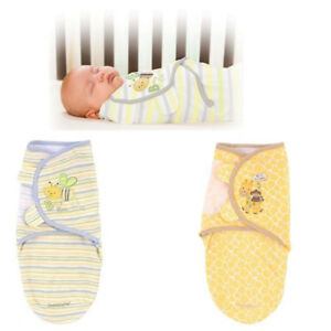 Happy Baby Swaddle Wrap-Pack de 3 Swaddle couvertures pour nouveau-né 100/% coton
