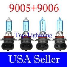 Combo 9006 9005 100W White Xenon Halogen 5000K Headlight Bulb #xh3 Hi/Low Beam