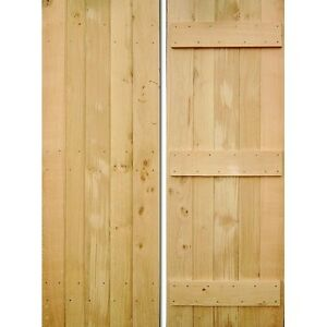 Hand Crafted Internal Oak Wooden Cottage Door