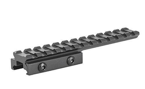 Lion Gears 12 Slots 0.5 Low Profile Picatinny Rail Bridge Mount Bm1205Ex