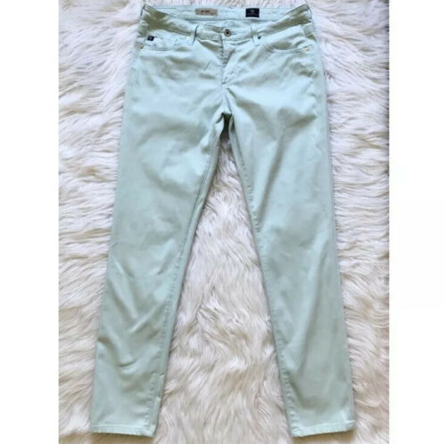 AG Adriano Goldschmied the Stilt Jeans Mint Green