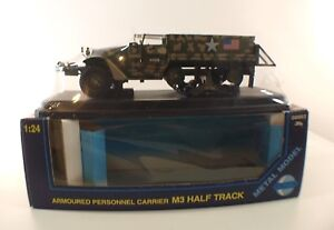 Gonio N° 08663 Camion Militaire Armoured M3 Half Track Mint Neuf En Boite 1/24