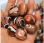 Wholesale-5-Pcs-Madagascar-Banded-Agate-Tumbled-Beautiful-Patterns-Random thumbnail 4