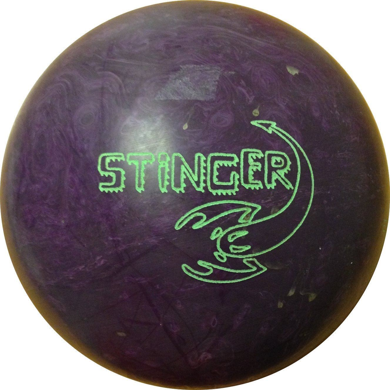 Ebonite Stinger Purple 15 lbs 10 oz NOS Bowling Ball  Free Shipping  Undrilled