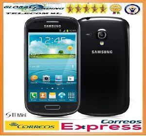 SAMSUNG-GALAXY-S3-MINI-i8190-i8190N-NEGRO-LIBRE-8GB-BLACK-TELEFONO-MOVIL