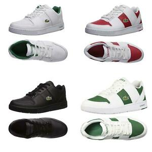 NEW Lacoste Mens Casual Fashion Sneakers Thrill Casual Lace-Up Shoes