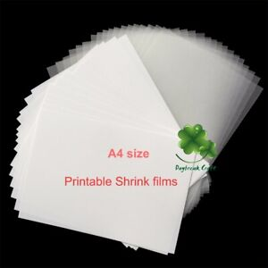 graphic relating to Printable Shrink Plastic named 10Personal computers Printer Inkjet Shrink Motion picture Do it yourself Plastic Printable