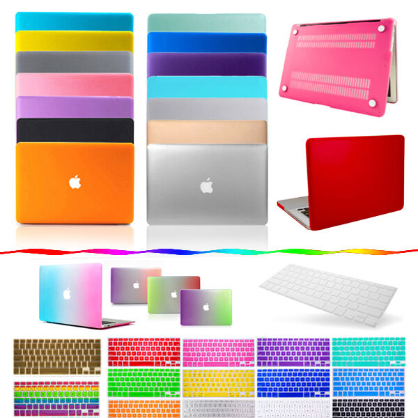 """MacBook Case Keyboard Skin for Apple Air Pro Retina 11"""" 13"""" 15"""" Rubberized Cover"""