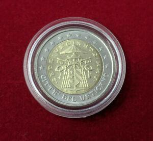 Vatican-Monnaie-officielle-Sede-Vacante-2-Euro-2005-en-capsule