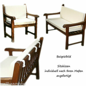 sitzkissen auflagen polster bankauflage loungepolster nach ma ebay. Black Bedroom Furniture Sets. Home Design Ideas