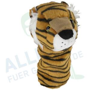 Schlaegerhaube-034-Tiger-034-fuer-Fairwayholz-Driver-von-Creative-Covers-neu